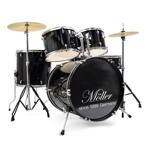 뮐러악기 5구 드럼 풀세트 드럼스틱 드럼의자 증정_(1351409)