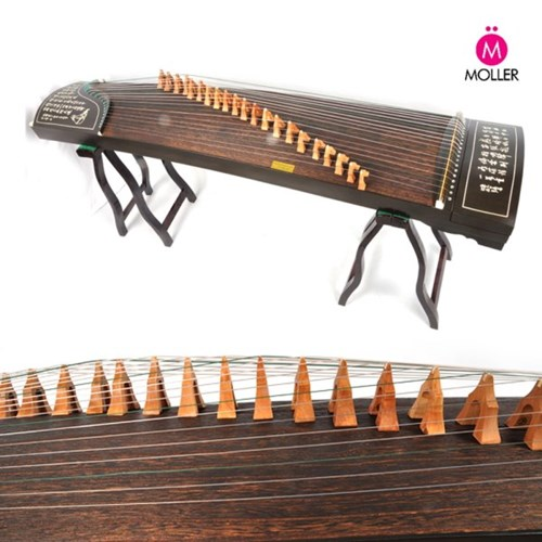 중국 민속악기 구정(古箏) 고쟁 스탠드 가방증정_(1351702)