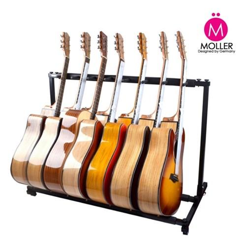 7단 기타스탠드 스탠드형 기타거치대 받침대_(1351706)