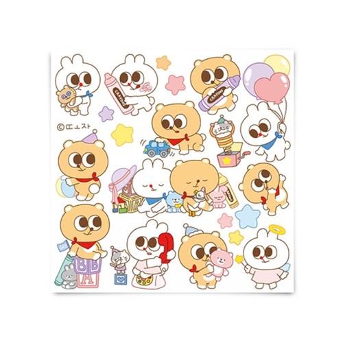 [또자] 장난감 또곰 스티커 (8장)