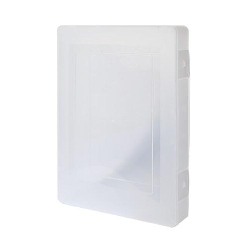사무실 대학교 학원 A4서류 투명파일케이스 대형 FC01_(1050935)