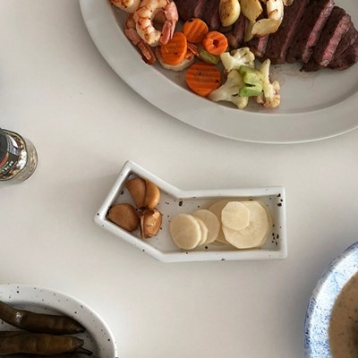 [폴라앳홈] 얼반시리즈 (얼飯) 꺾인 찬그릇