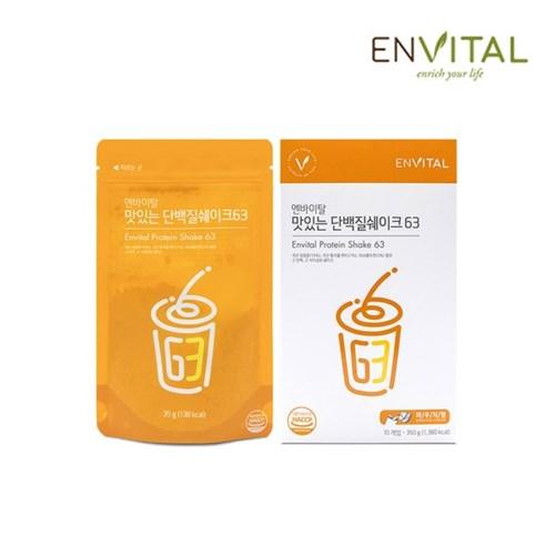 엔바이탈 맛있는 단백질쉐이크63(10포)