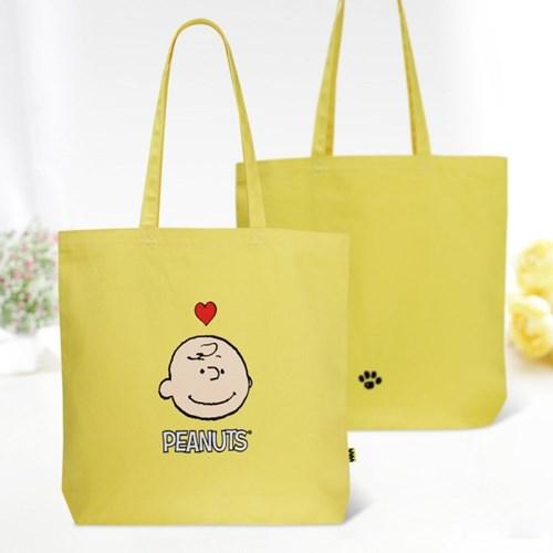 [Peanuts Bag&Acc]찰리브라운 자수에코백(Charlie brown_(1732533)