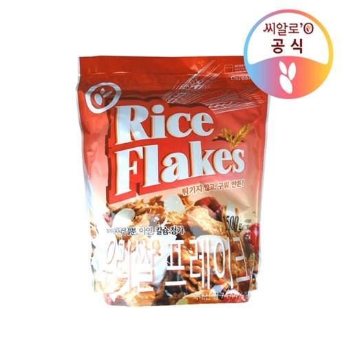씨알로 우리쌀 프레이크 대용량 지퍼백(1.5kg)_(1489704)