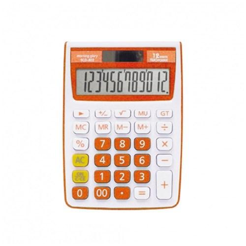 14000 ECD-802 컬러계산기 (오렌지)_(2653269)
