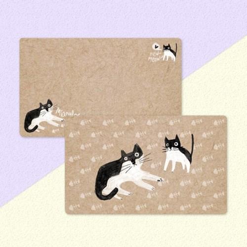 디원 고양이 메모(JM09)