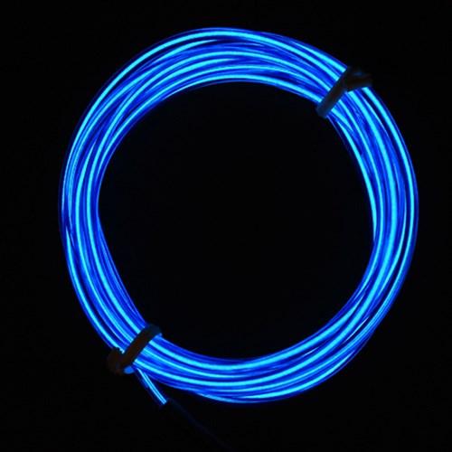EL 와이어줄(2M)+인버터 [블루]