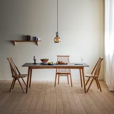 [찰스퍼니처] 린 리놀륨 사각형 테이블 01_1800
