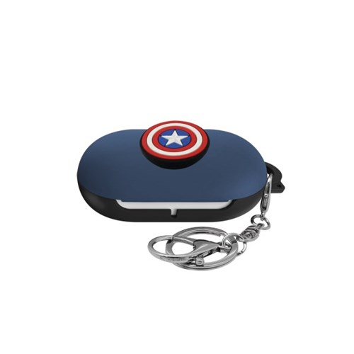 버즈 마블 포인트 3D 케이스 캡틴아메리카 블루