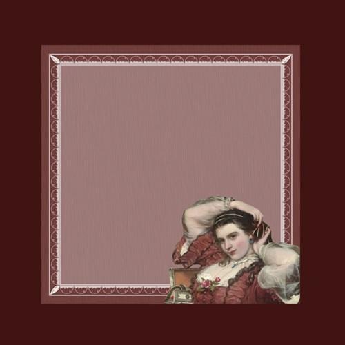 제임스 산트의 'Portrait of Adelina Patti' 떡메모지