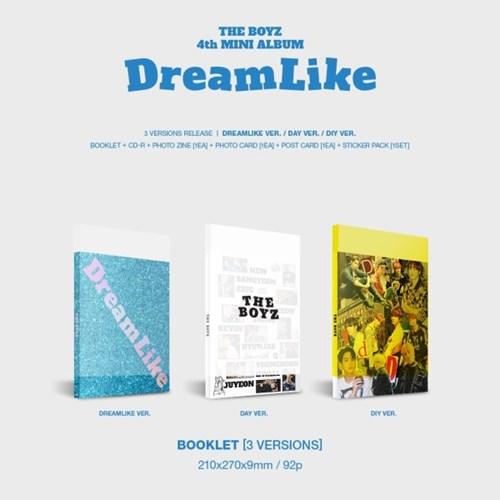 더보이즈 THE BOYZ - 미니 4집 앨범 DreamLike 3종 버전세트