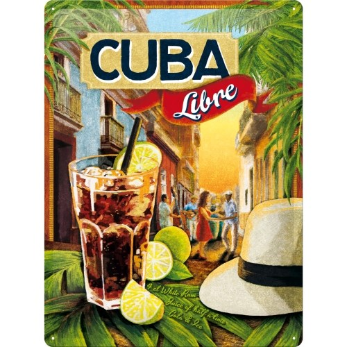 노스텔직아트[23182] Cuba Libre
