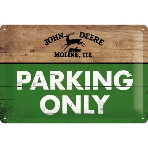 노스텔직아트[22258] John Deere - Parking Only