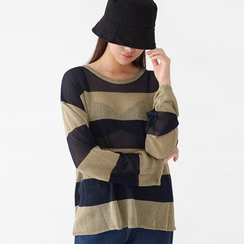 mark large stripes knit_(1316953)
