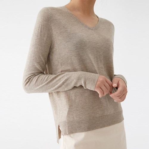 thin base v-neck knit_(1316952)