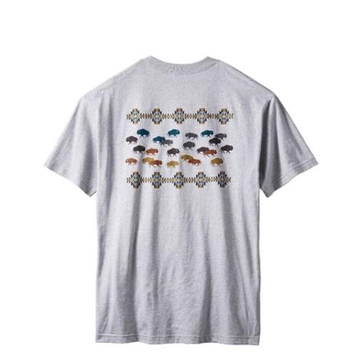 [PENDLETON] 펜들턴(ACC) 프레리 러시아워 반팔 티셔츠 그레이