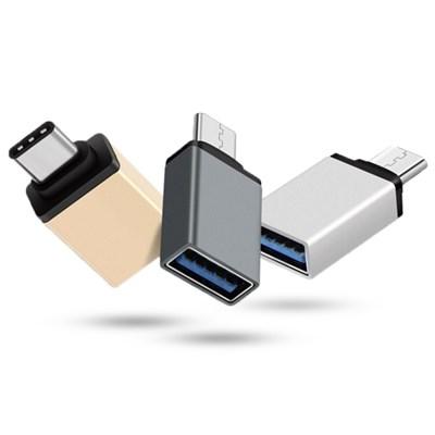 휴대용 스마트폰 OTG 젠더 USB 3.0 호환 (C타입)