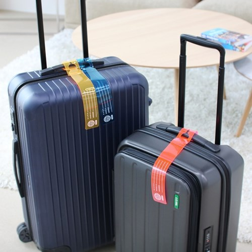 Neon luggage Tag