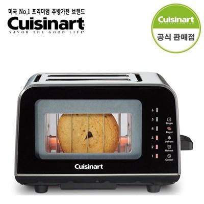 쿠진아트 글래스 2구 토스터기 CPT-3000KR