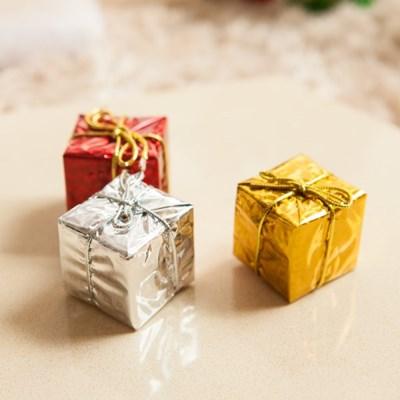 홀로그램선물상자3.5cm(6개입) 트리 선물상자 TROMCG_(1400621)