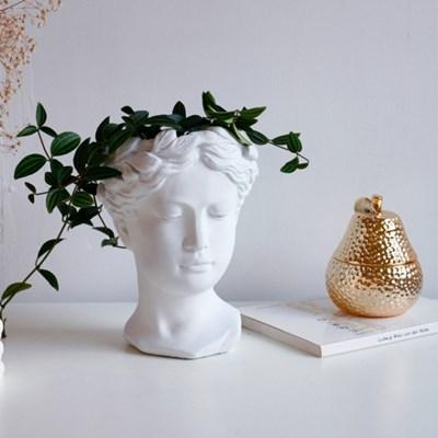 여신조각상 인테리어 화분