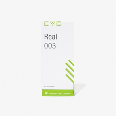 [EVE] 이브리얼 003 낀듯 안낀듯 가장 얇은 0.03mm 콘돔