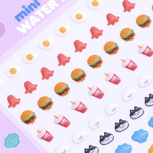 MINI MINI MINI water sticker