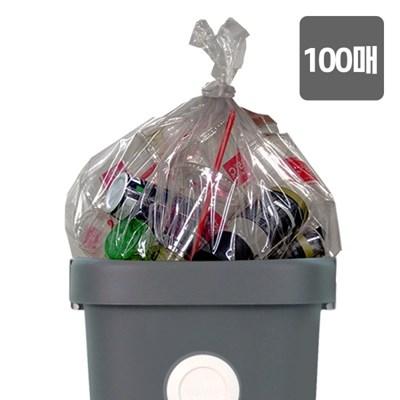 [올리빙] 도트 분리수거함 비닐봉투 100매