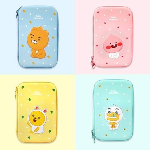 카카오프렌즈 EVA파우치L 4종 화장품 소품가방