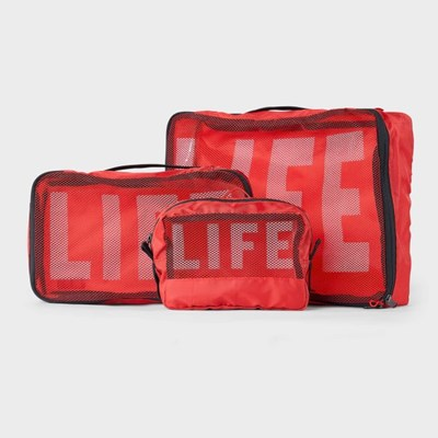 LIFExR PACKABLE POUCH 506 SET_LIFE RED_(1424750)