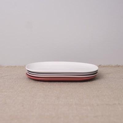 [보울보울] 레트로라인 디너플레이트-L(4color)_(6849659)