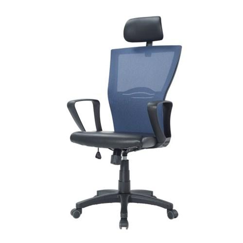 젠틀맨 사무용의자 책상의자 컴퓨터의자-블랙5발大_(1378168)