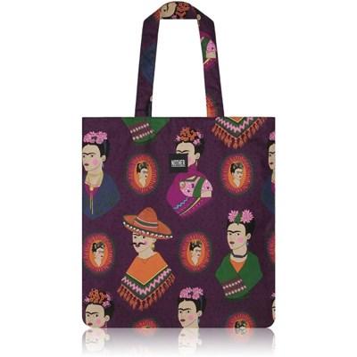 nother Fantastico Frida Flat Tote Bag (Frida Kahlo/Purple)