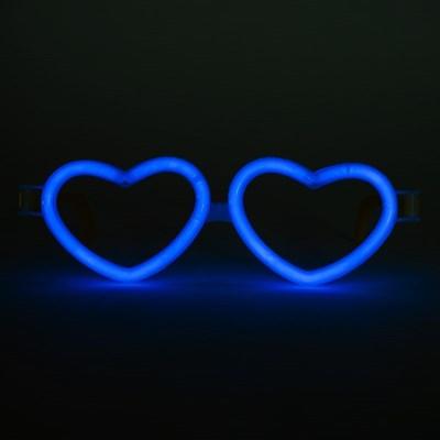 야광 하트안경 [블루]_(11797809)
