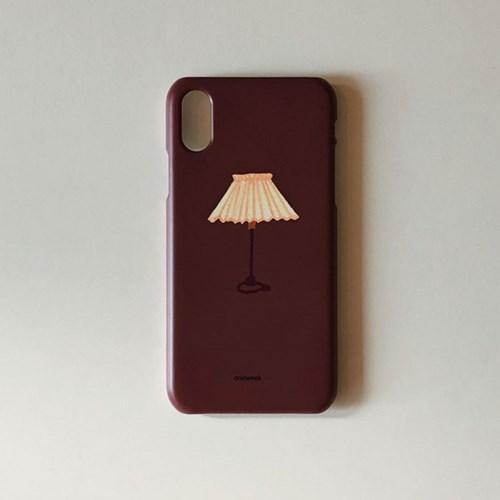 Desk lamp iphone case