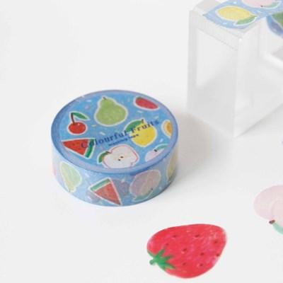 Colorful Fruits Masking Tape