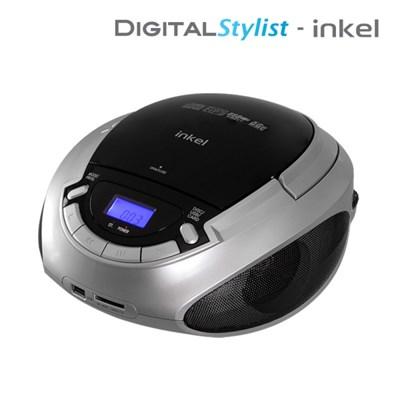 인켈 포터블 CD플레이어 ICP419 MP3 USB SD 라디오