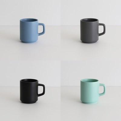 홈카페 레인보우 머그컵 (8color) - B