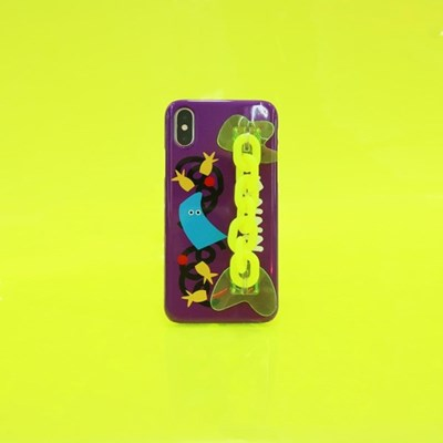 SUN CASE NEON CHAIN PURPLE