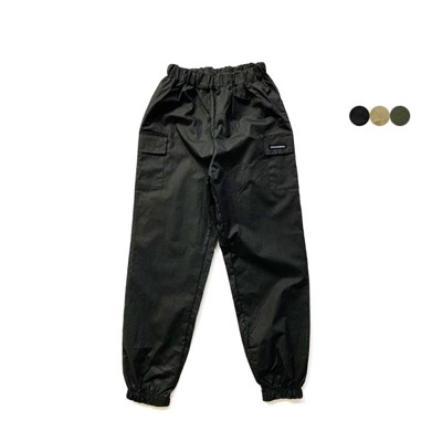코튼 카고 밴딩 팬츠 Cotton Cargo Banding Pants(3color)