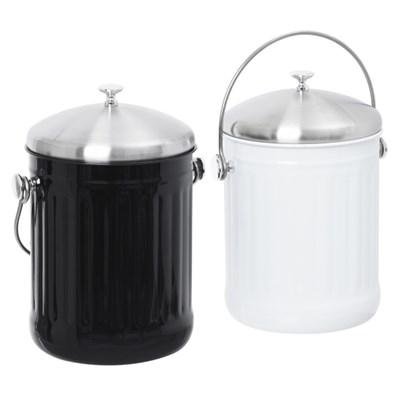 에코빈 스텐 음식물 쓰레기통 5L
