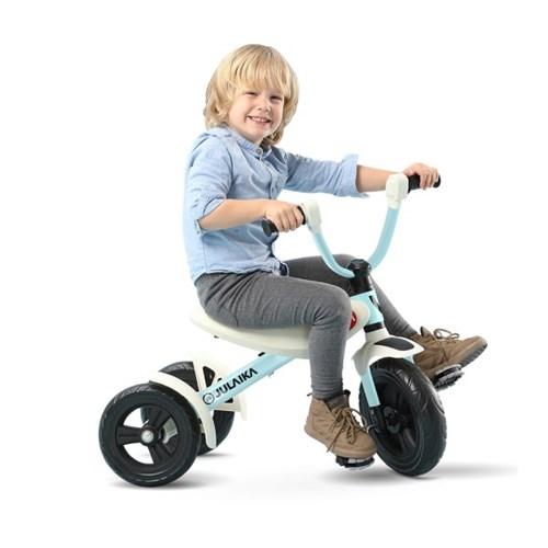 줄라이카 접이식 세발자전거 J9 폴딩 트라이크 블루 유아 자전거