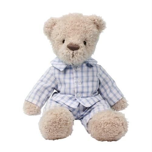 애착인형 파자마 입은 곰인형