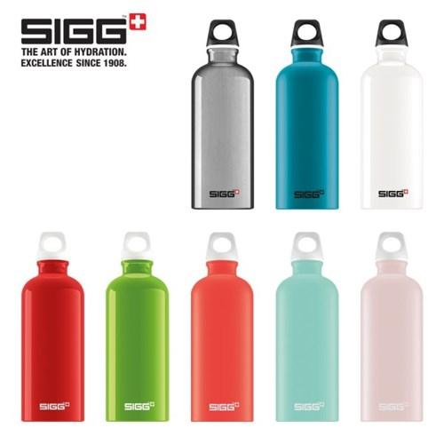 [SIGG] 스위스 지그 트래블러 알루미늄 워터 보틀 물병