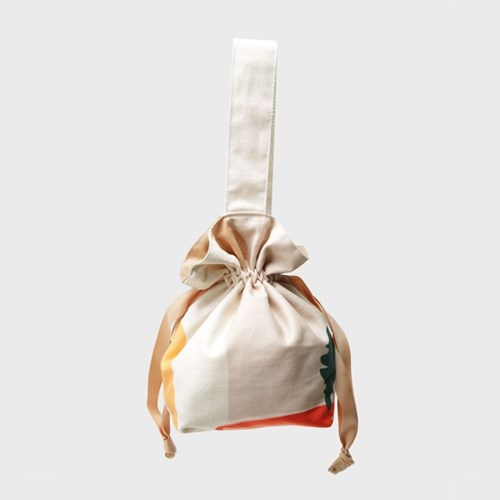 Daily scenery string bag