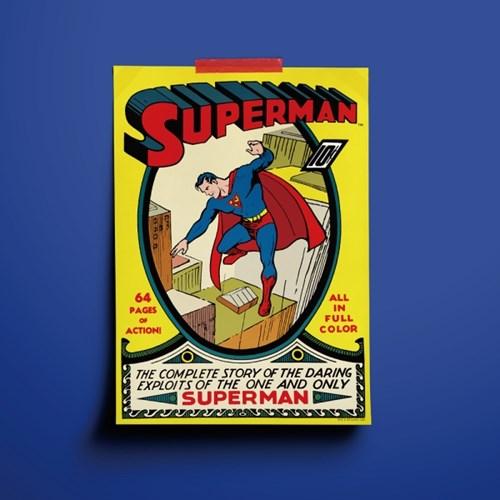 DC코믹스 인테리어 포스터 - 슈퍼맨