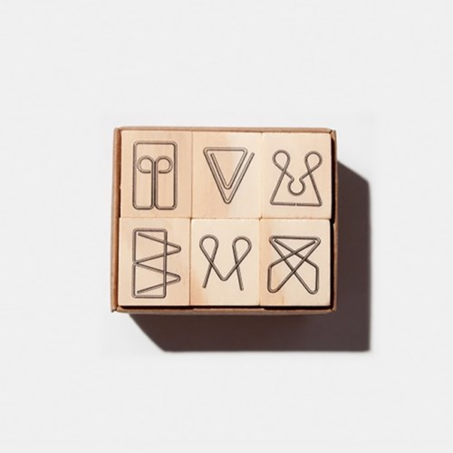 Tools to Liveby Paper Clips Stamp