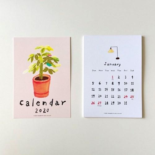Madeleine 2020 illustration poster calendar