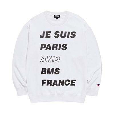 [BMS] 비엠에스 프랑스 공용 파리 맨투맨티셔츠 (GEZ2383_31)